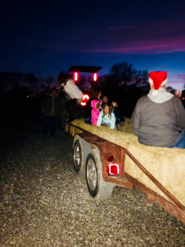 2019 Holiday hay rides and caroling!