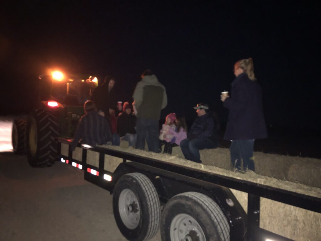 Christmas Hay Ride